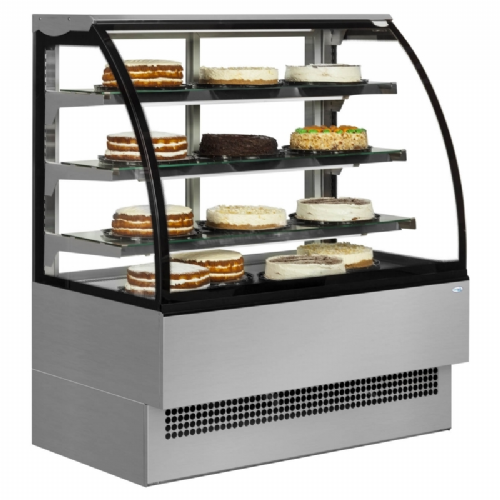 Interlevin Italia Range EVO600 SS Patisserie Display Cabinet
